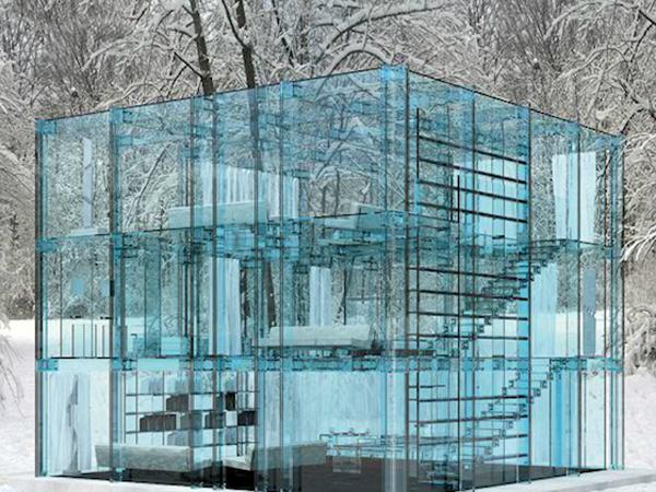 Архитектурное шоу За стеклом . Фото