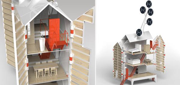 Слишком умный дом в стиле Кин-дза-дза! . Фото