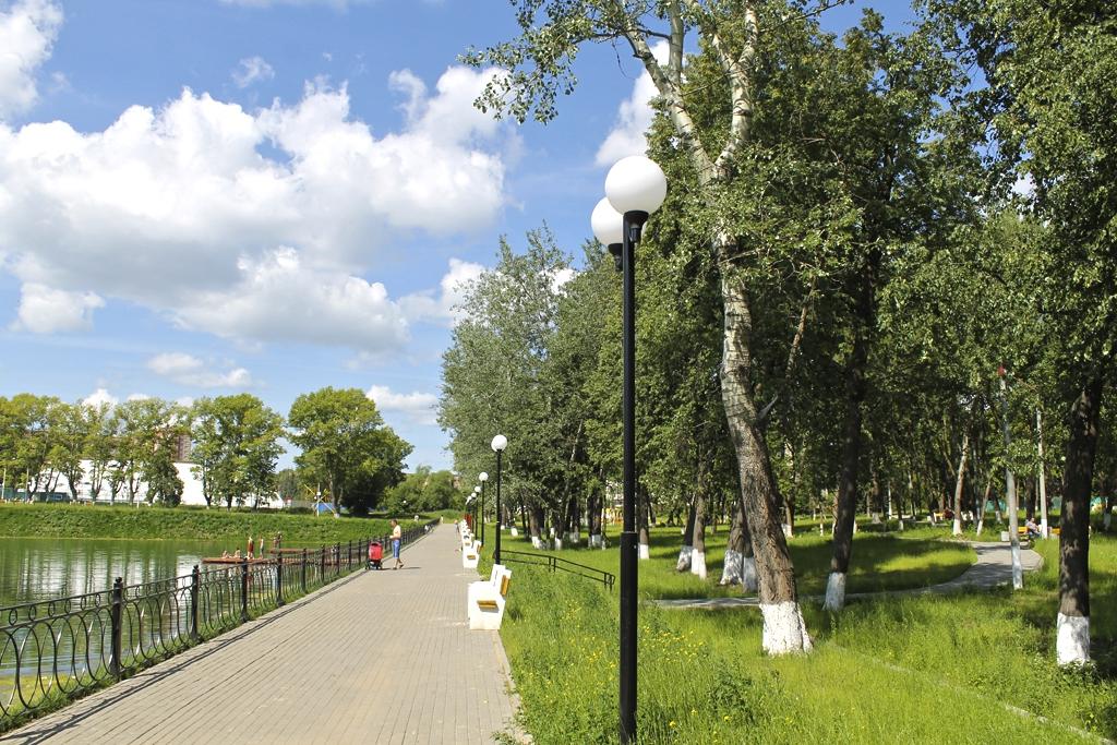 Новостройки в Серпухове: ГК ПЖИ благоустроила пруд рядом с ЖК Жемчужина