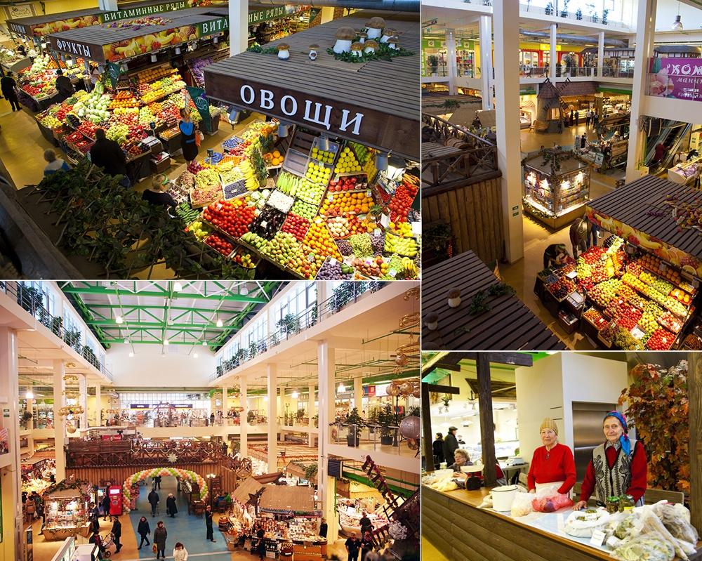 Экобазары вместо супермаркетов