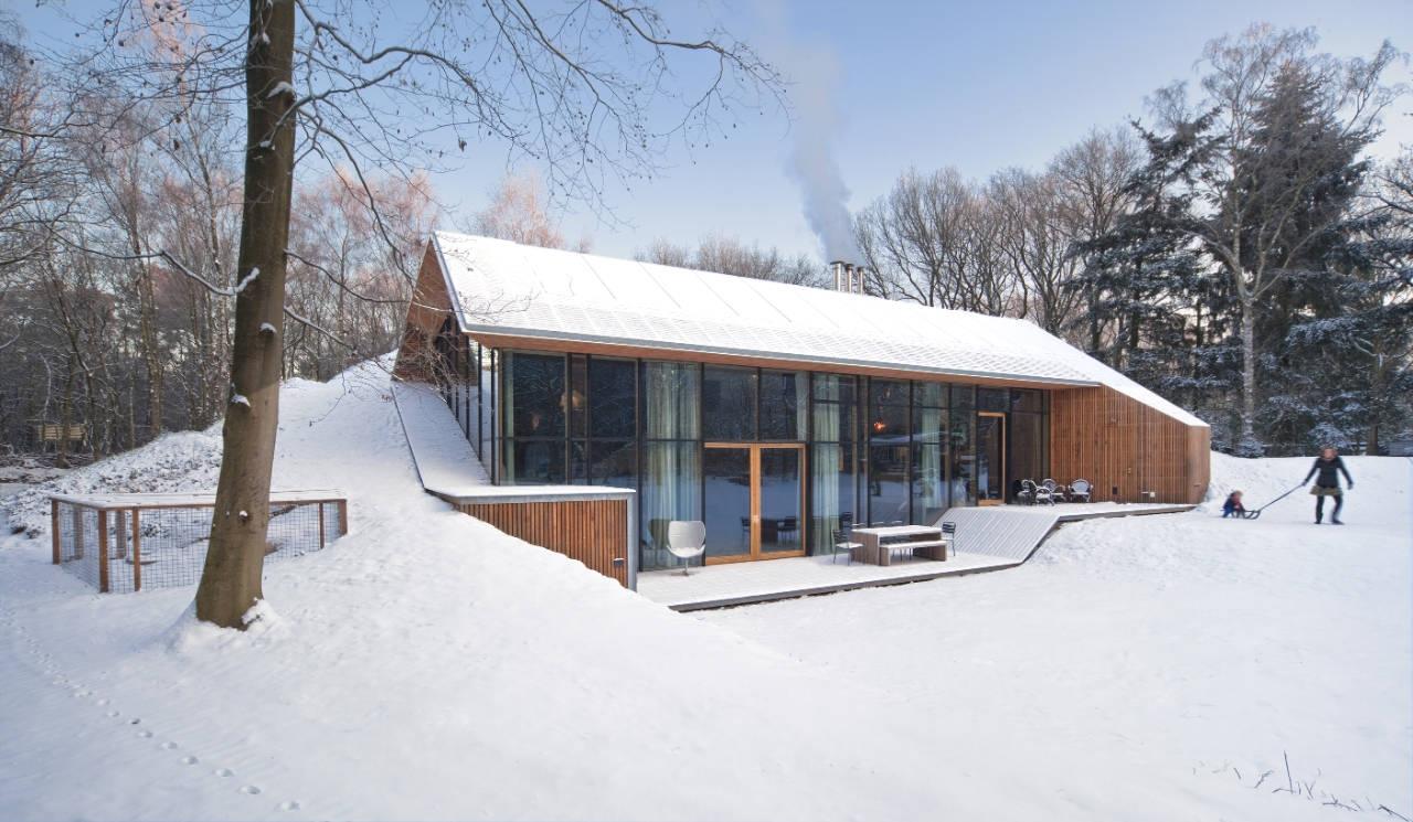 Домик в горах: пять концептуальных построек