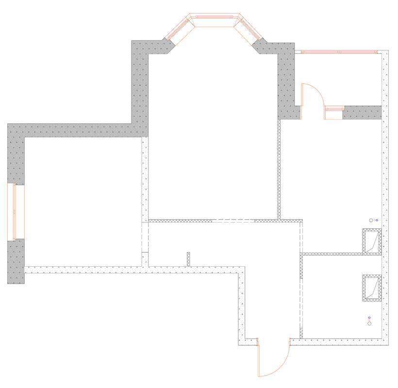 Дизайн-проект: как из типовой двушки сделать трешку на 60 кв. м