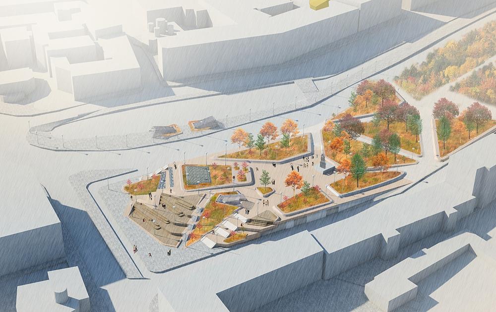 Архитекторы предлагают изменить городское пространство вокруг Кремля