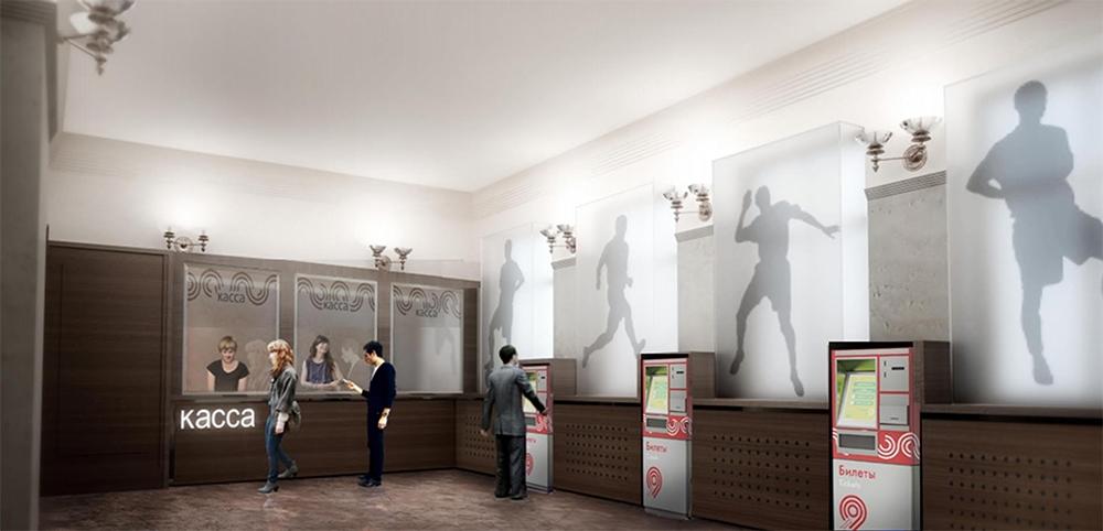 Три станции московского метро поменяют дизайн вестибюлей