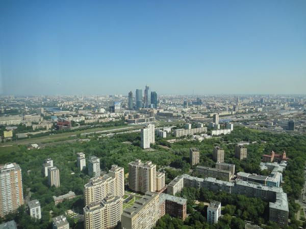 Как смотрят на мир владельцы московских пентхаусов. Фото