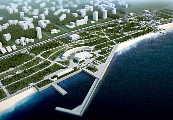 На Черном море появится новый город-курорт. Фото