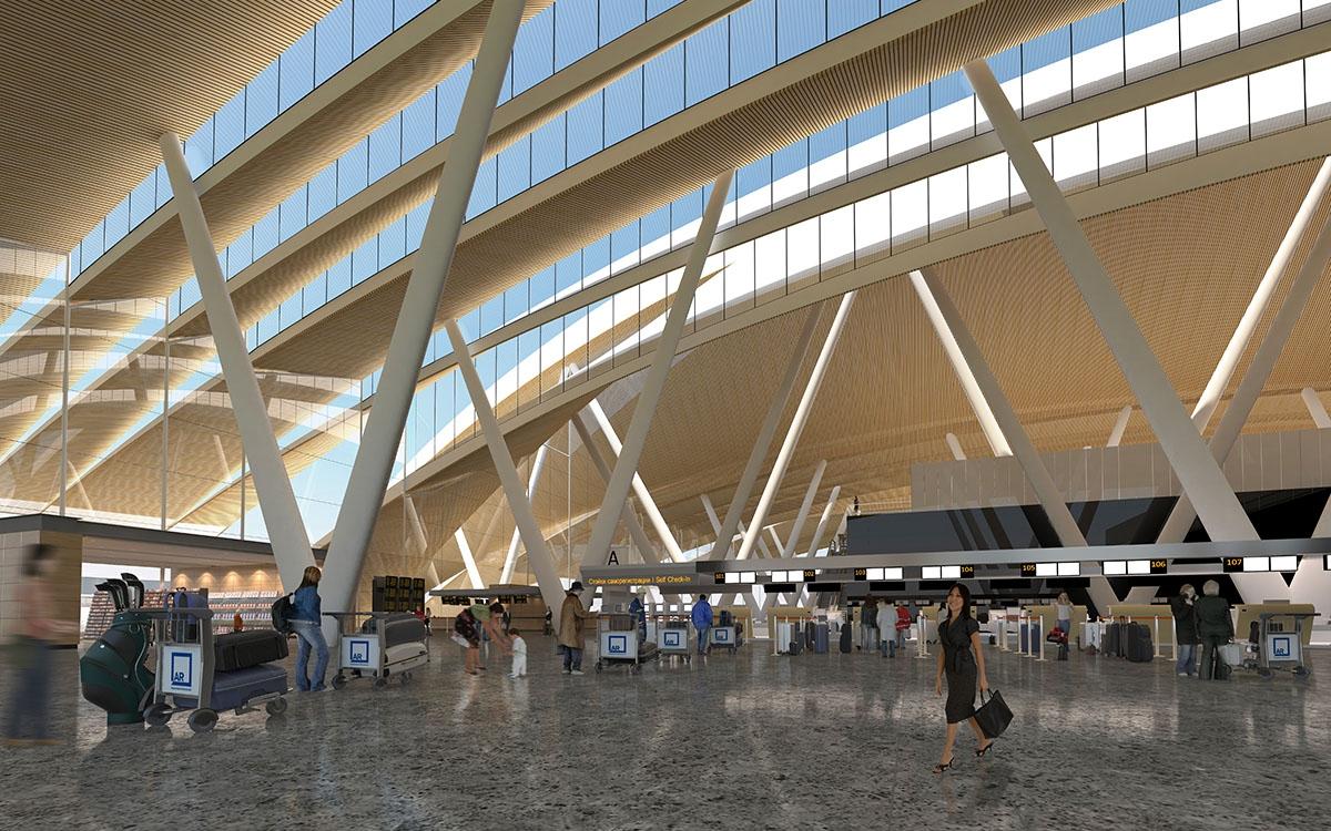 Как будет выглядеть крупнейший на юге России аэропорт