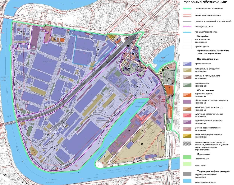 Москва утвердила проект планировки территории завода ЗИЛ