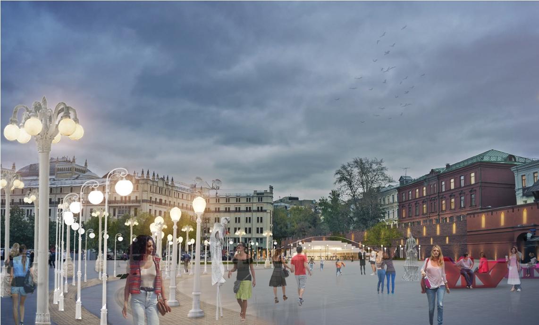 Архитекторы предлагают кардинально изменить площадь Революции в Москве