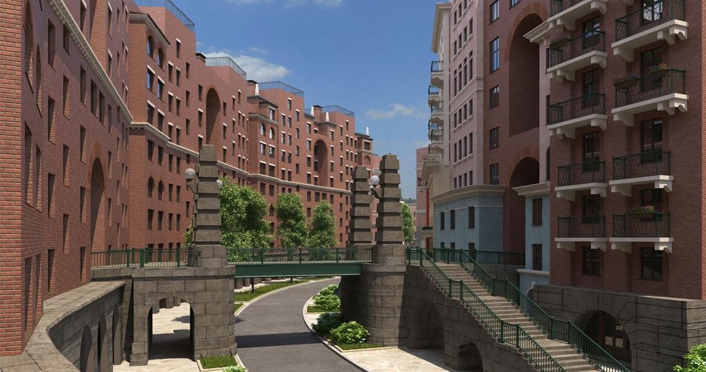 В Химках построят квартал-солнце
