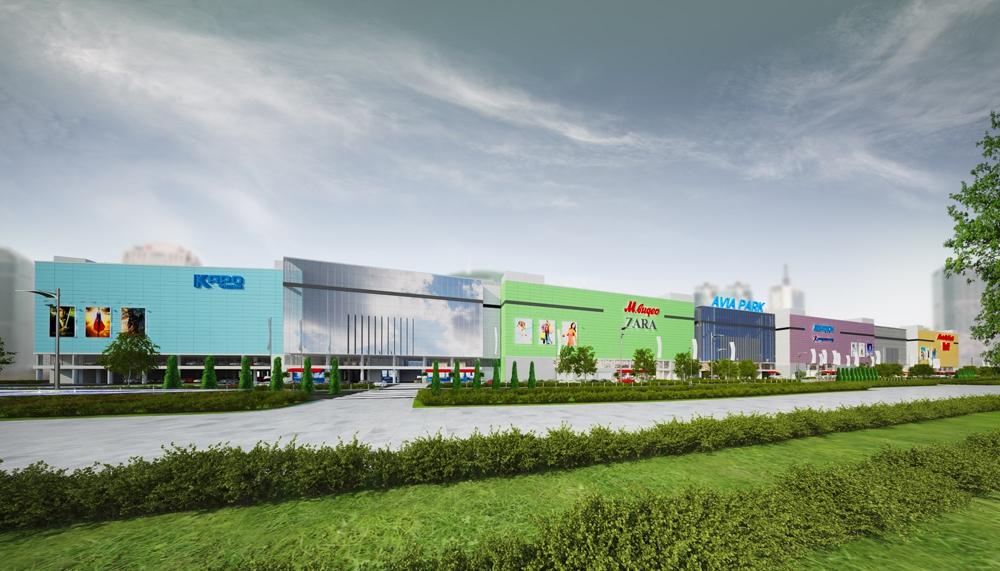 В России поставлен рекорд по вводу торговых центров