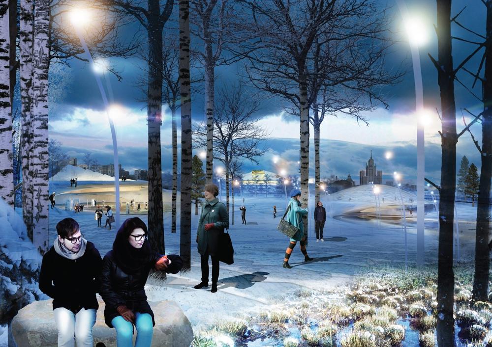 Парк Зарядье откроют на День города в 2017 году