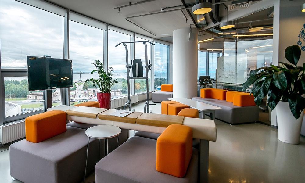 Креативные офисы крупнейших интернет-компаний в России