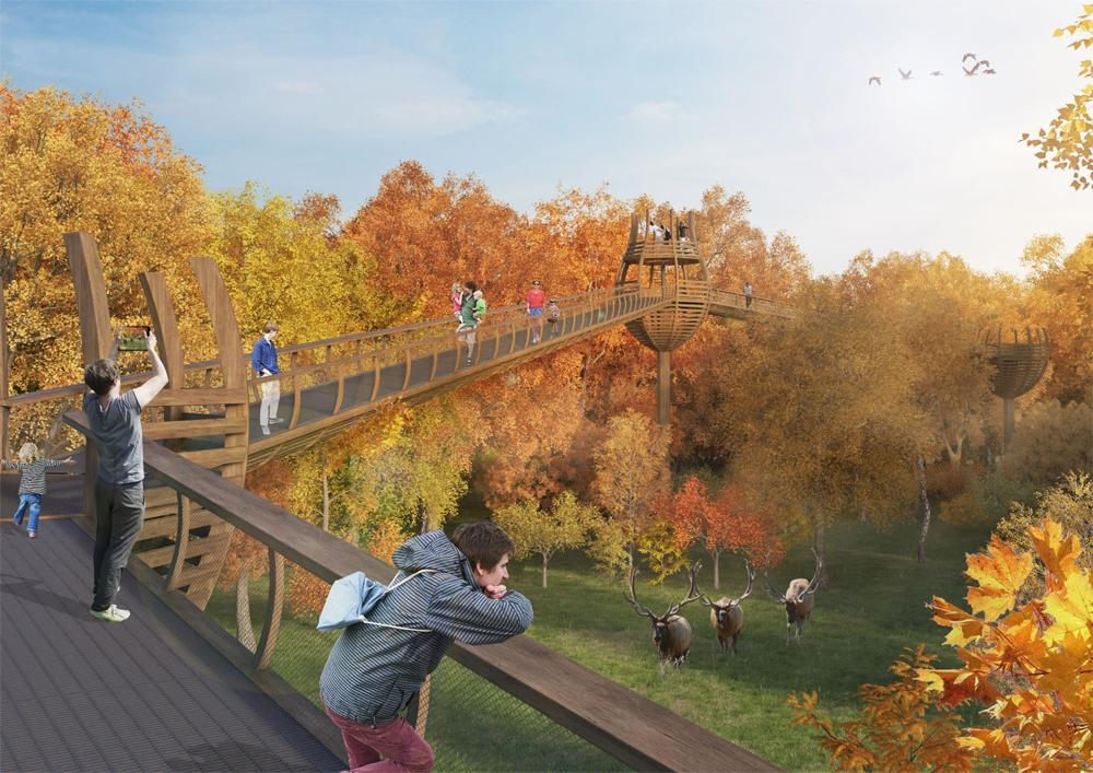 Как будет выглядеть Посольство природы в Сокольниках