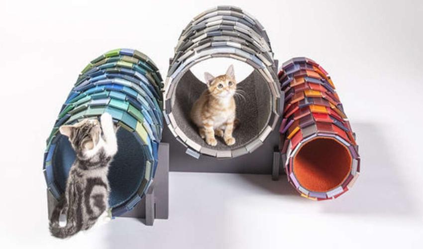 Кошкин дом: 16 дизайнерских идей для домашних любимцев