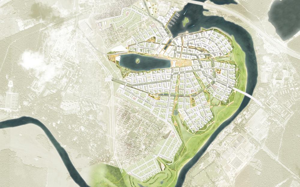 Рублево-Архангельское: город в городе , пока не нужный рынку