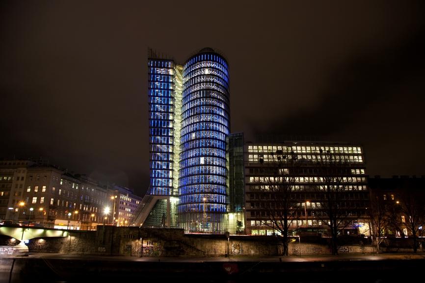 Архитектура света: дома и небоскребы с медиафасадами