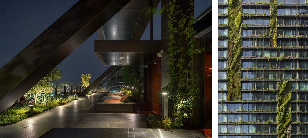 Лучшим небоскребом стало здание с самыми высокими в мире садами