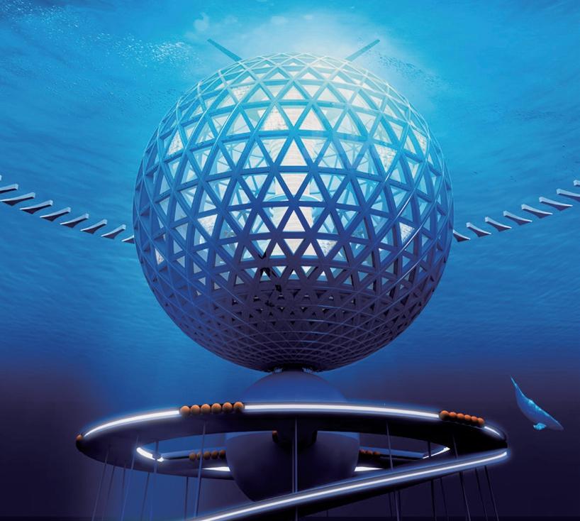 В Японии хотят построить подводный город за 26 миллиардов долларов