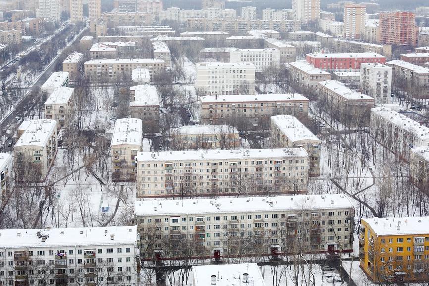 Риэлторы назвали самые низкие цены на квартиры по обе стороны МКАД
