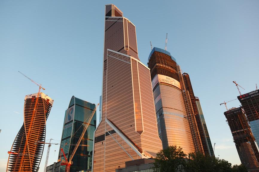 Башня Федерация возглавила список самых высоких зданий Европы