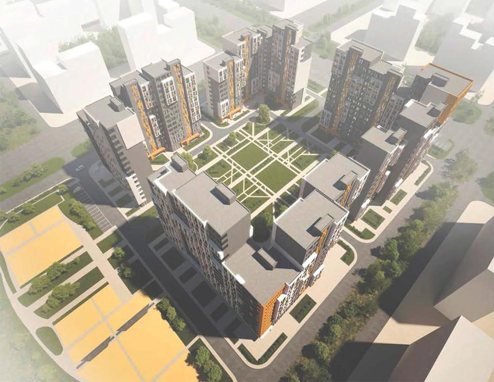 Московские строители показали новые серии типовых многоэтажек