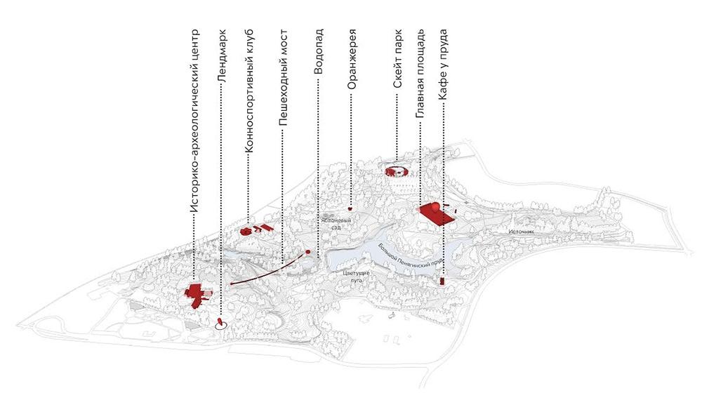 Концепцию красного парка реализуют в московском Митино
