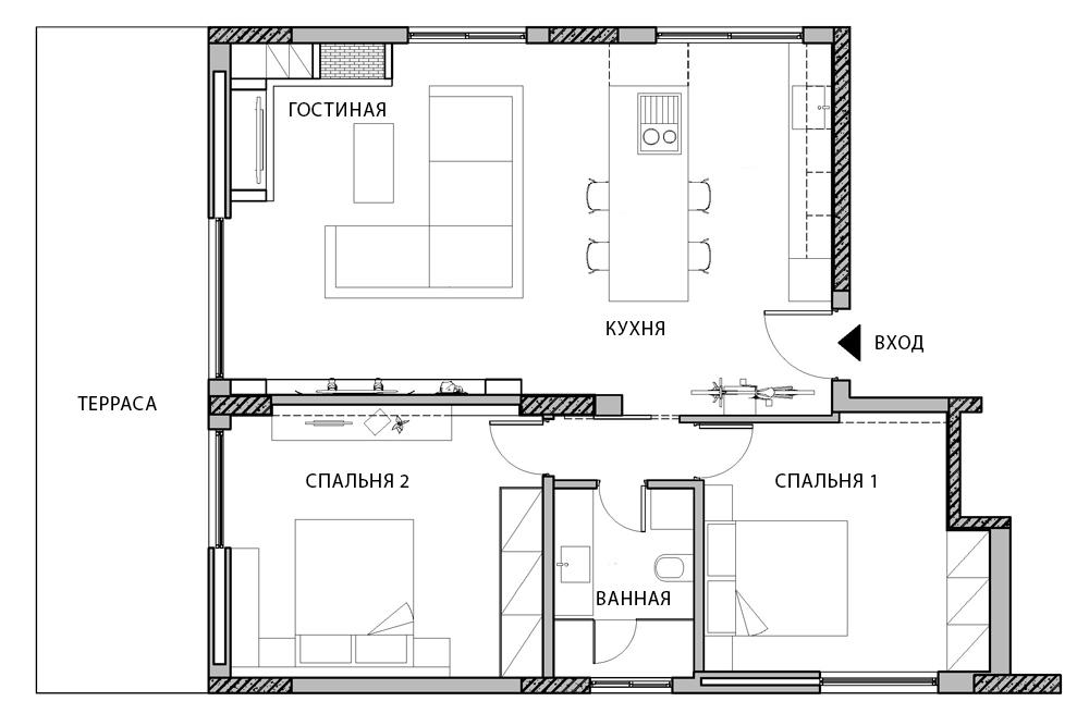 Как хранить спортинвентарь в квартире - дизайнерское решение