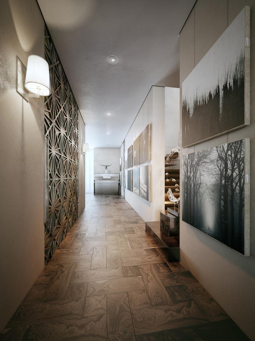 Школа дизайна: эклектика в трехэтажном пентхаусе