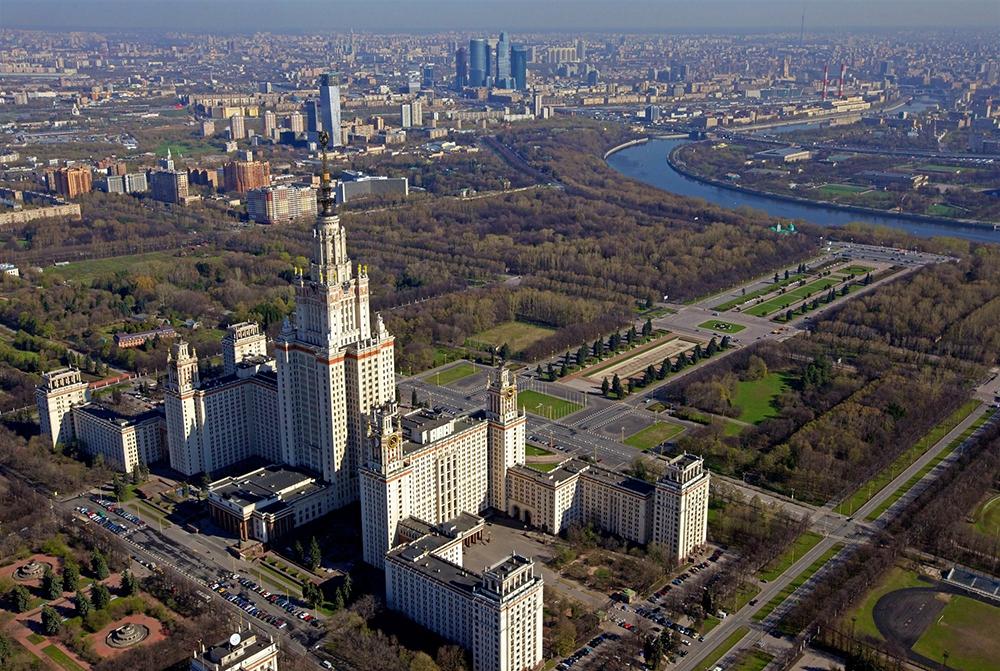 Город в городе построят рядом с МГУ на Воробьевых горах