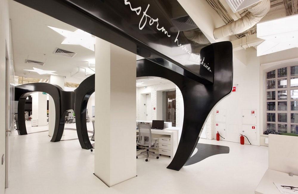 Офис недели: арт-объекты в рекламном агентстве